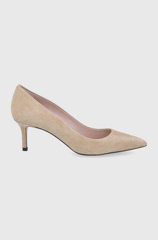 Hugo - Velúr magassarkú cipő