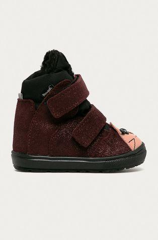 Mrugała - Dětské semišové boty