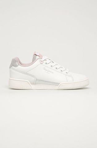 Pepe Jeans - Detské kožené topánky Lambert Basic