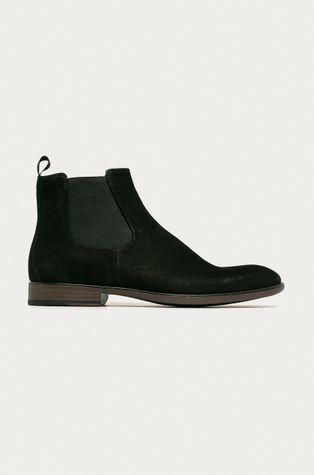 Vagabond - Kožené kotníkové boty Harvey