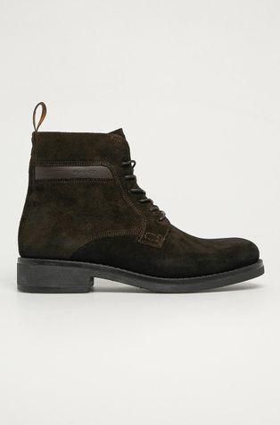 Gant - Kožené boty Brookly G46