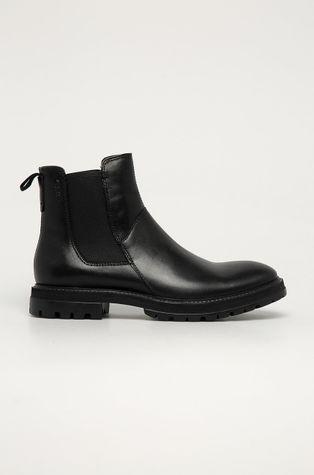 Vagabond - Kožené kotníkové boty Johnny