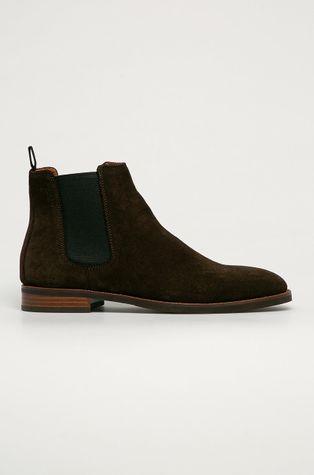 Vagabond - Kožené kotníkové boty Percy