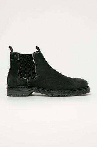 Jack & Jones - Semišové kotníkové boty