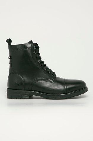 Pepe Jeans - Kožené topánky Tom Cut Premium