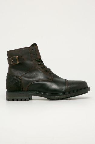Mustang - Kožená obuv
