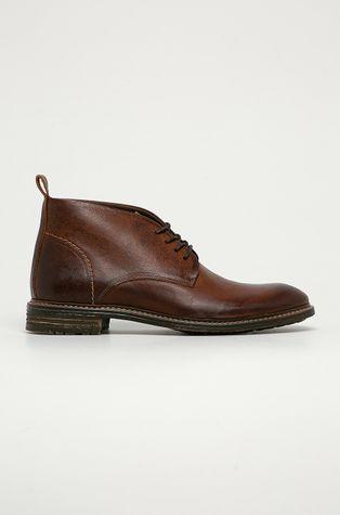 Aldo - Kožená obuv Mireallan