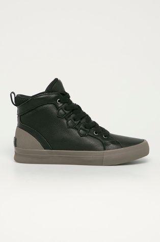 Sorel - Шкіряні черевики Caribou Sneaker Mid WP