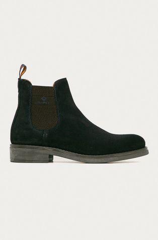 Gant - Semišové kotníkové boty Brookly