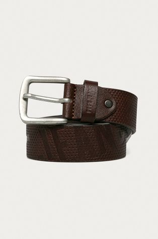 Pepe Jeans - Kožený pásek Lucas