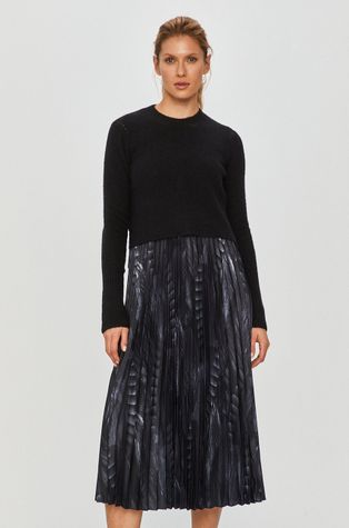 AllSaints - Rochie si pulover