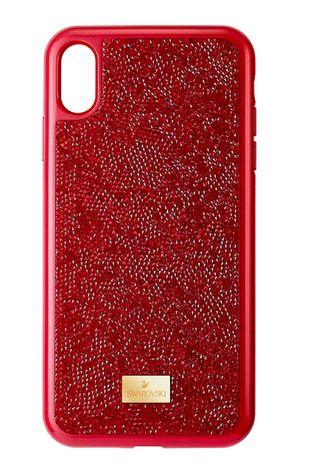 Swarovski - Etui na telefon iPhone X/XS Glam Rock