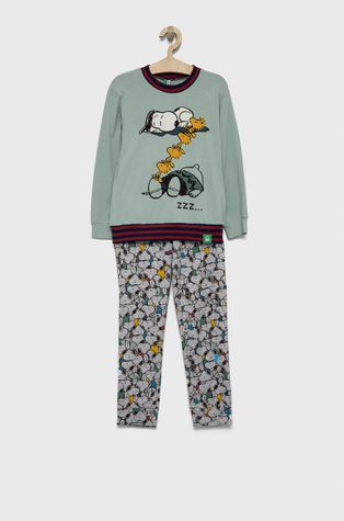 United Colors of Benetton - Детска пижама x Peanuts