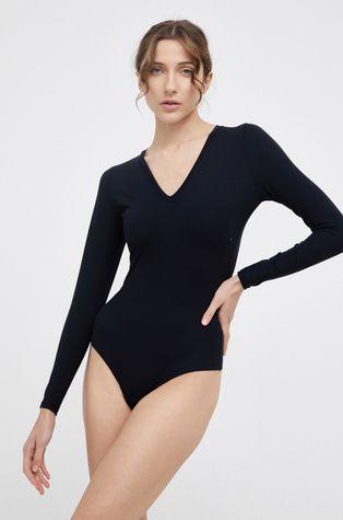 Spanx - Оформяща блуза с дълги ръкави SLEEVE V-NECK BODYSUIT