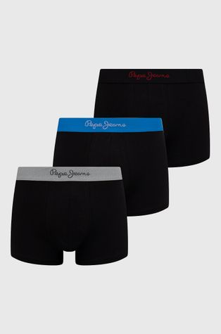 Pepe Jeans - Μποξεράκια Martial (3-pack)