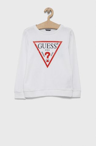 Guess - Παιδική βαμβακερή μπλούζα
