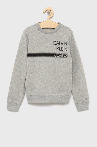 Calvin Klein Jeans - Детски памучен суичър