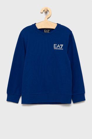 EA7 Emporio Armani - Παιδική βαμβακερή μπλούζα