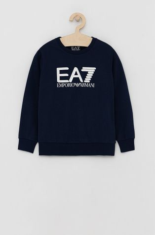 EA7 Emporio Armani - Dětská bavlněná mikina