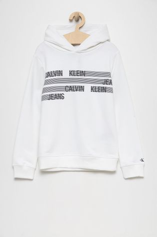 Calvin Klein Jeans - Hanorac de bumbac pentru copii