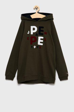 Pepe Jeans - Hanorac de bumbac pentru copii Jason