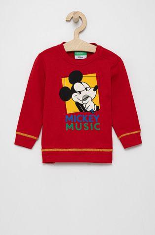 United Colors of Benetton - Bluza bawełniana dziecięca x Disney