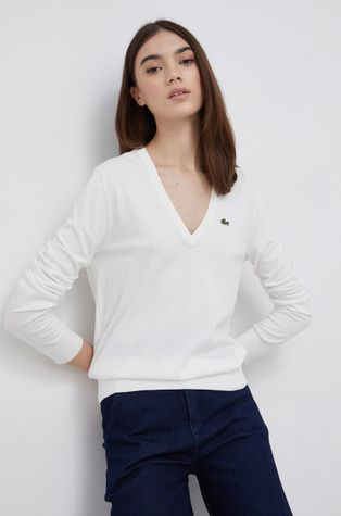 Lacoste - Βαμβακερό πουλόβερ