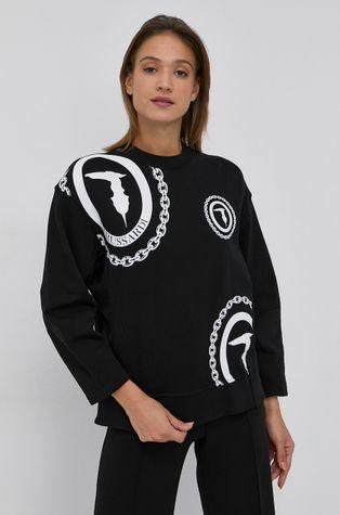 Trussardi - Βαμβακερή μπλούζα