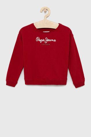Pepe Jeans - Bluza bawełniana dziecięca Winter Rose