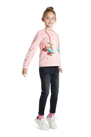 Desigual - Bluza bawełniana dziecięca