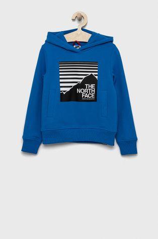 The North Face - Bluza bawełniana dziecięca