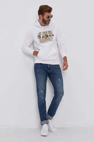 Pepe Jeans - Bluza bawełniana Inaki