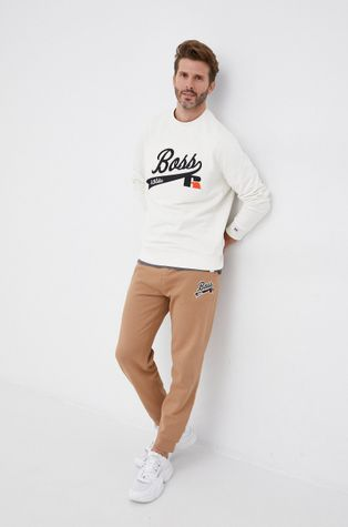 Boss - Суичър Boss x Russell Athletic