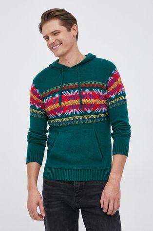 United Colors of Benetton - Sweter z domieszką wełny