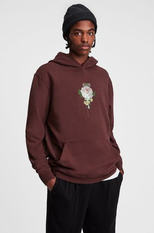 AllSaints - Βαμβακερή μπλούζα