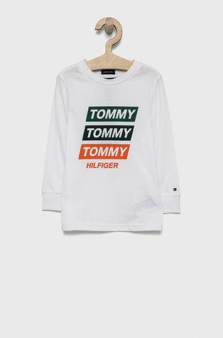 Tommy Hilfiger - Detská bavlnená košeľa s dlhým rukávom