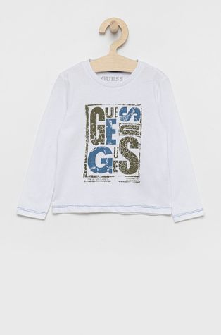 Guess - Longsleeve bawełniany dziecięcy
