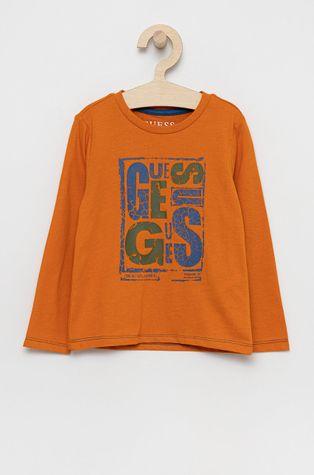 Guess - Detská bavlnená košeľa s dlhým rukávom