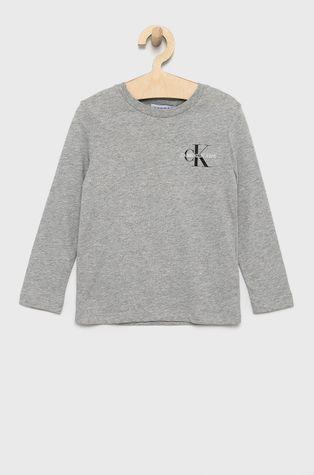 Calvin Klein Jeans - Dětská bavlněná košile s dlouhým rukávem