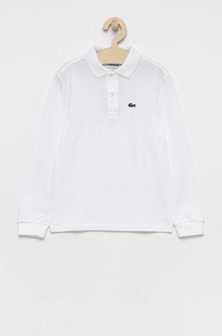 Lacoste - Detská bavlnená košeľa s dlhým rukávom