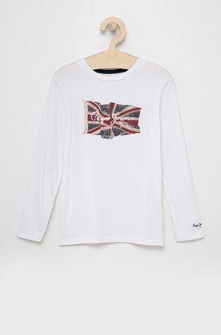 Pepe Jeans - Детска блуза с дълги ръкави Flag Logo
