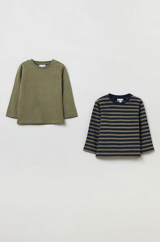 OVS - Longsleeve bawełniany dziecięcy (2-pack)