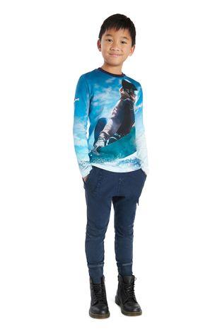 Desigual - Detská bavlnená košeľa s dlhým rukávom