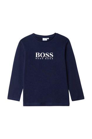 Boss - Dětské tričko s dlouhým rukávem