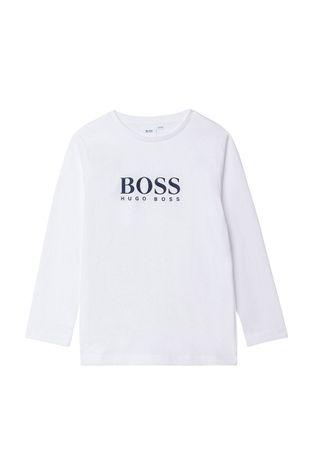 Boss - Detské tričko s dlhým rukávom