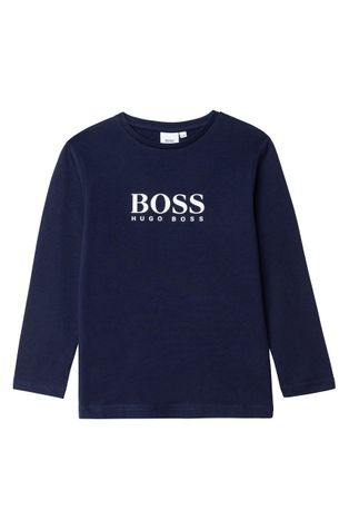 Boss - Longsleeve dziecięcy