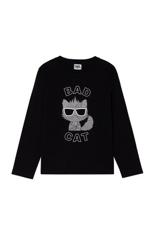 Karl Lagerfeld - Detské tričko s dlhým rukávom