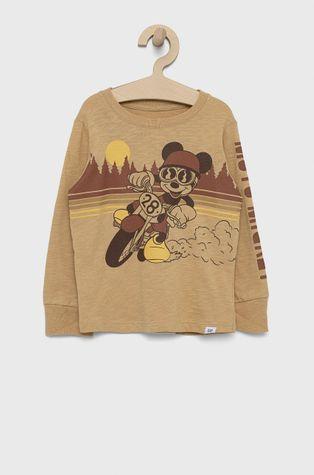 GAP - Longsleeve bawełniany dziecięcy x Disney