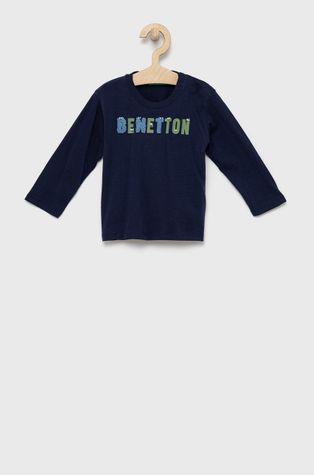 United Colors of Benetton - Παιδικό βαμβακερό μακρυμάνικο