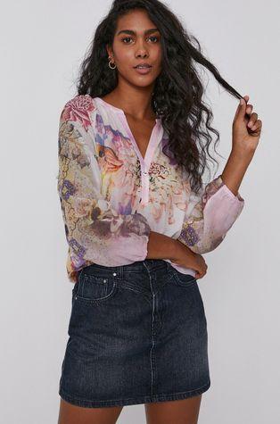 Desigual - Памучна блуза